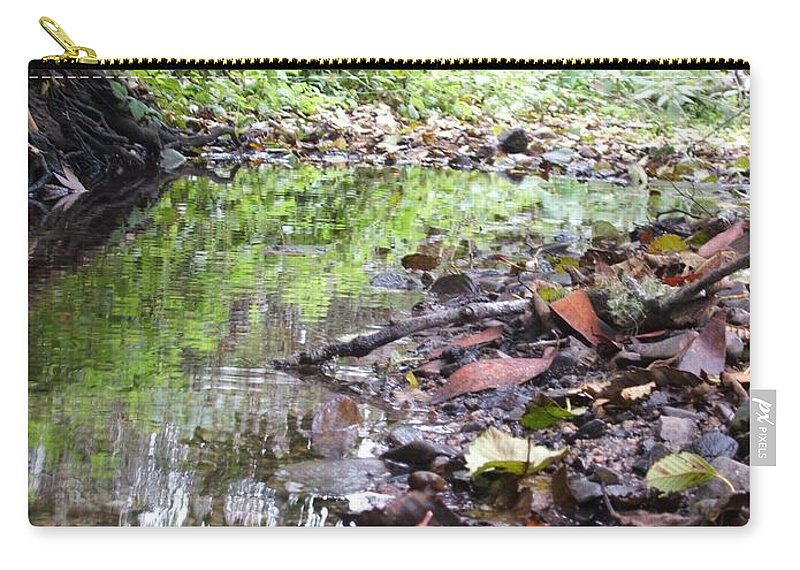 Woods Carry-all Pouch featuring the photograph Reflection by Shari Chavira