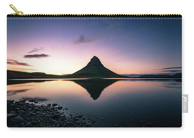 Landscape Carry-all Pouch featuring the photograph Reflection by Siddhartha De