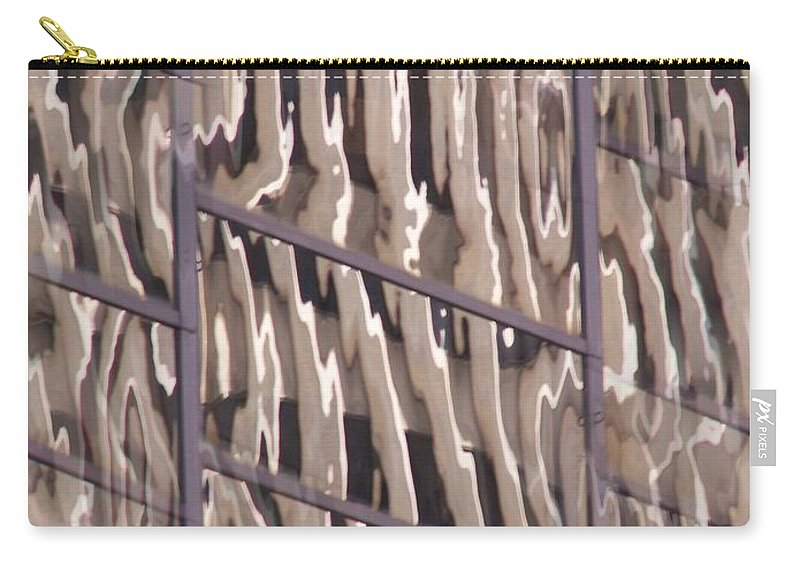 Reflection Carry-all Pouch featuring the digital art Reflection by Tim Allen