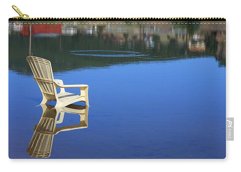Water Carry-all Pouch featuring the photograph Reflections Fine Art Photography Print by James BO Insogna