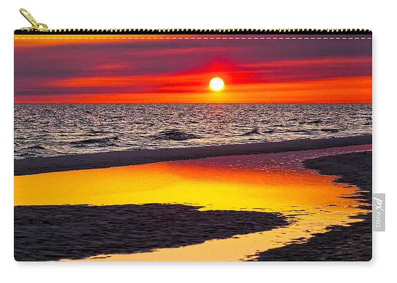 Reflection Carry-all Pouch featuring the photograph Reflections by Janet Fikar