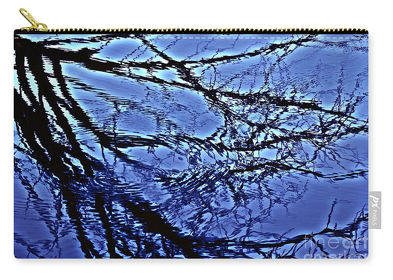 Reflections Carry-all Pouch featuring the photograph Reflections by Joanne Smoley
