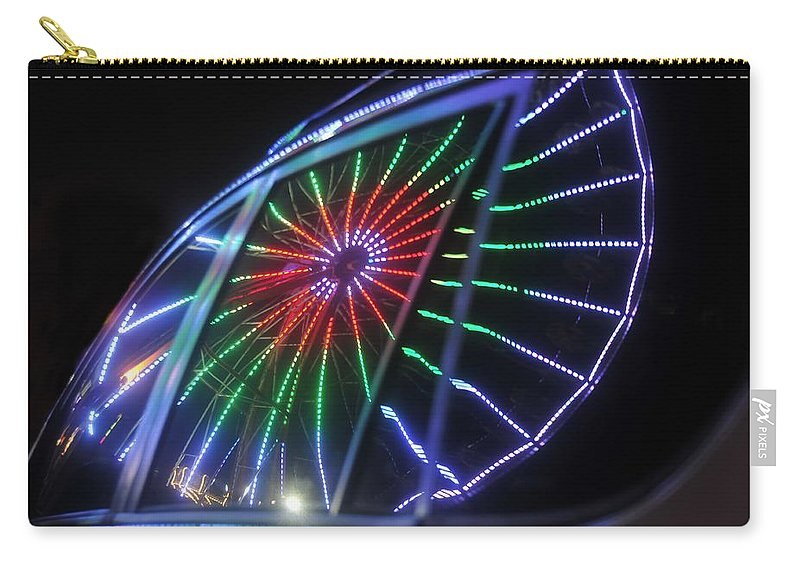 Fair Carry-all Pouch featuring the photograph Reflections Of Ferris by David Lee Thompson