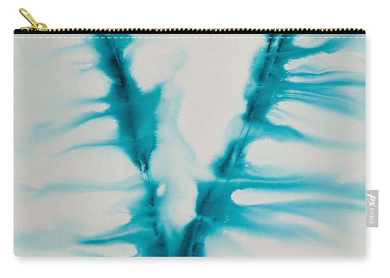Ilisa Millermoon Carry-all Pouch featuring the painting Reflections Of The Universe No. 2263 by Ilisa Millermoon
