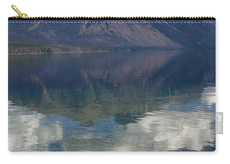 Lake Carry-all Pouch featuring the photograph Reflections On The Lake by Marty Koch
