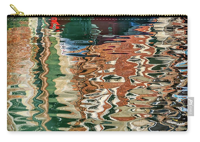 Italy Carry-all Pouch featuring the photograph Reflections Venice_dsc4687_03032017 by Greg Kluempers