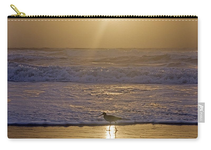 Romance Carry-all Pouch featuring the photograph Reflective Spotlight by Betsy Knapp