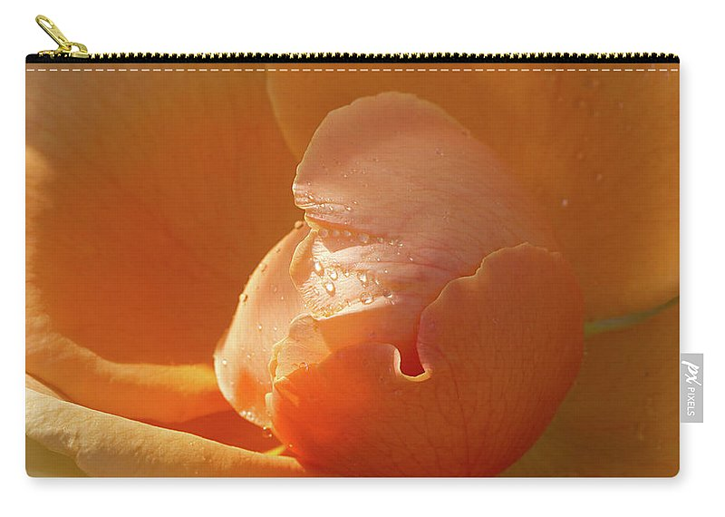 Rose Carry-all Pouch featuring the photograph Refreshing by Phyllis Denton