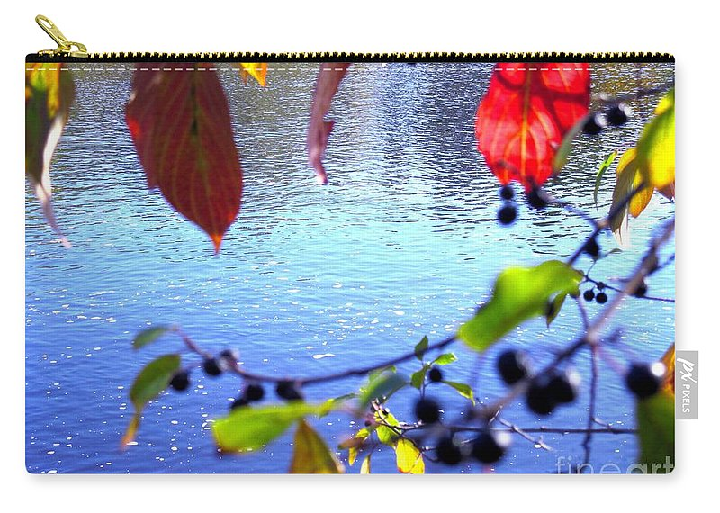 Water Carry-all Pouch featuring the photograph Refreshing View by Sybil Staples