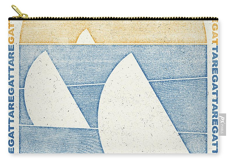 Igor Shcherbakov Carry-all Pouch featuring the digital art Regatta by Igor Shcherbakov