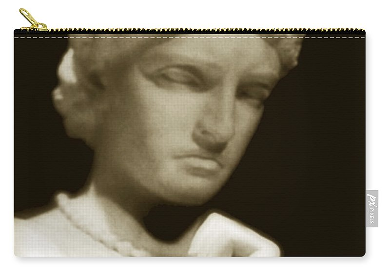 Woman Carry-all Pouch featuring the photograph Regret by RC DeWinter
