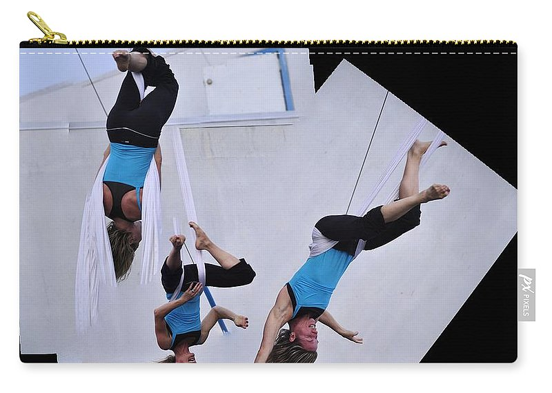 Clay Carry-all Pouch featuring the photograph Rehearsing by Clayton Bruster