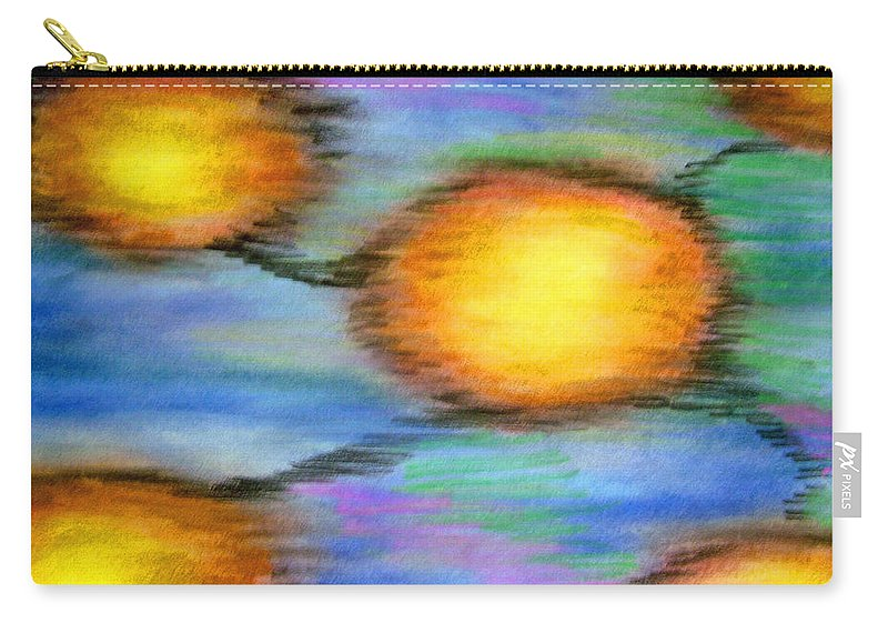 Carry-all Pouch featuring the drawing Reincarnation by Jan Gilmore
