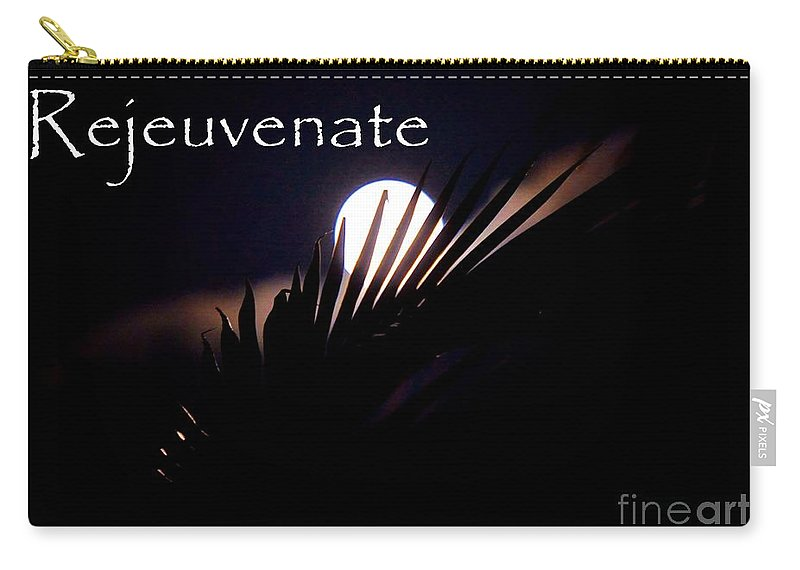 Rejeuvenate Carry-all Pouch featuring the photograph Rejeuvenate by Lisa Renee Ludlum