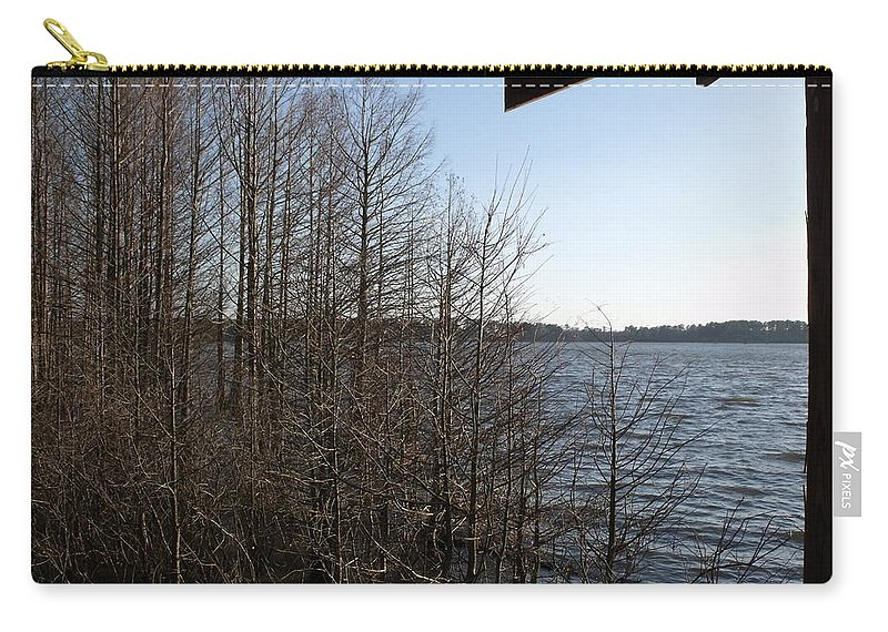 Trees Carry-all Pouch featuring the photograph Relaxation by Steve Cochran