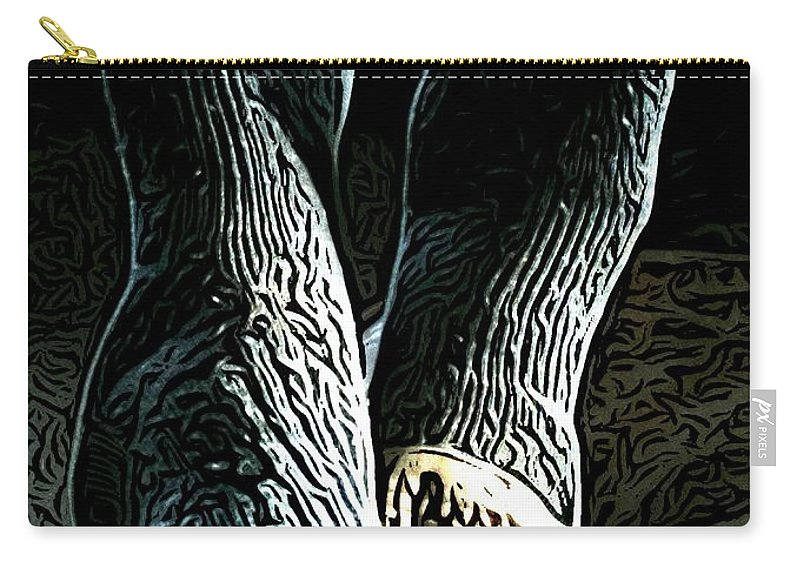 Feet Carry-all Pouch featuring the digital art Relaxed by Ron Bissett