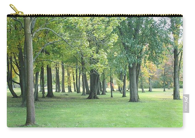 Tmad Carry-all Pouch featuring the photograph Relaxing Tranquility by Michael TMAD Finney