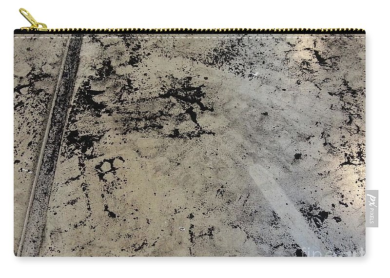 Art Carry-all Pouch featuring the mixed media Remains 3 by Nour Refaat
