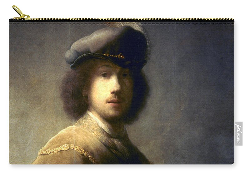 1629 Carry-all Pouch featuring the photograph Rembrandt Van Rijn by Granger