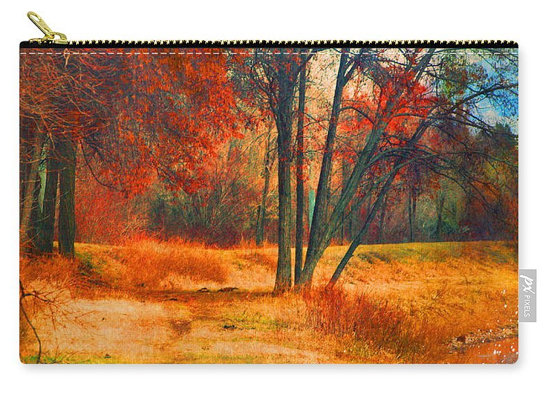 Trees Carry-all Pouch featuring the photograph Remembering The Places I Have Been by Tara Turner