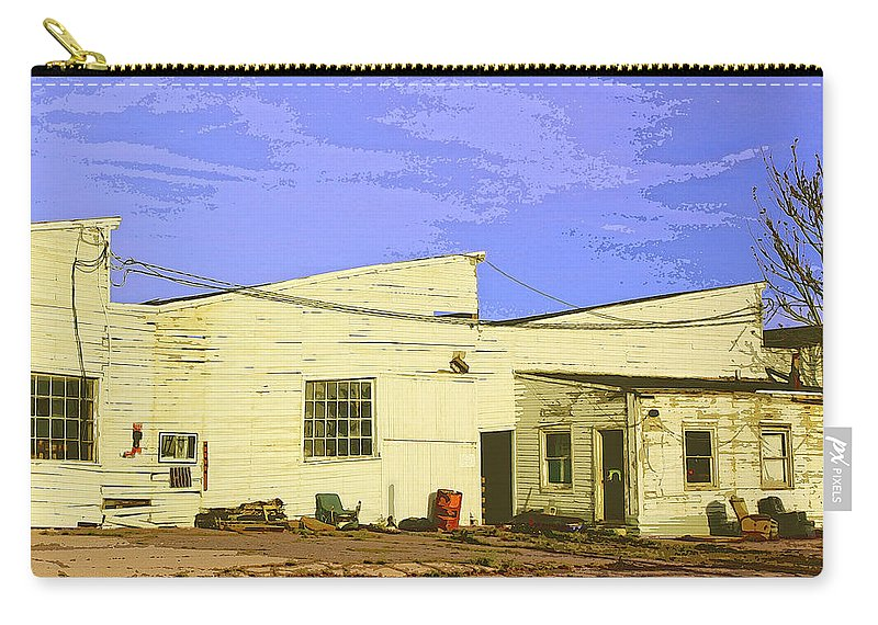 Reserved Seating Carry-all Pouch featuring the photograph Reserved Seating by Dominic Piperata