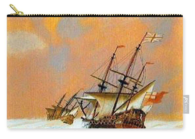 Resolution Carry-all Pouch featuring the painting Resolution by Richard Le Page