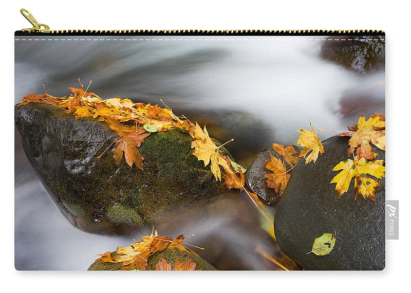 Autumn Carry-all Pouch featuring the photograph Respite by Mike Dawson