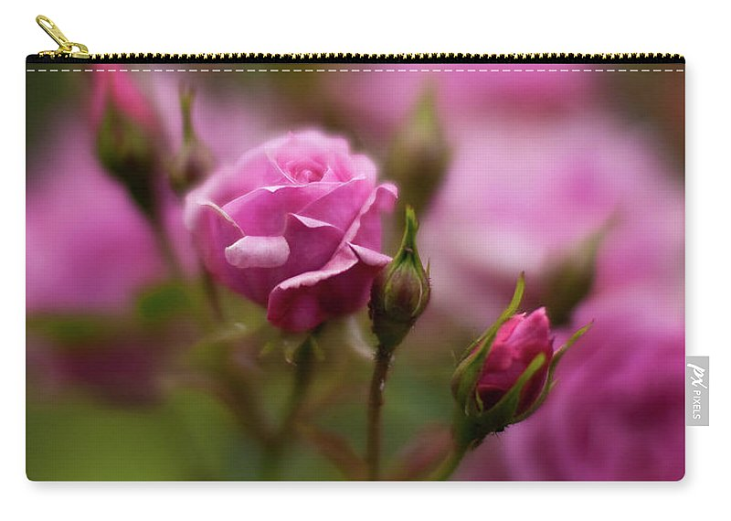 Rose Carry-all Pouch featuring the photograph Resplendent Roses by Mike Reid