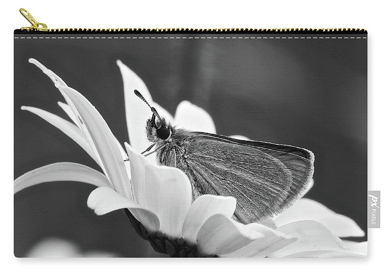 B&w Carry-all Pouch featuring the photograph Resting by Michael Peychich