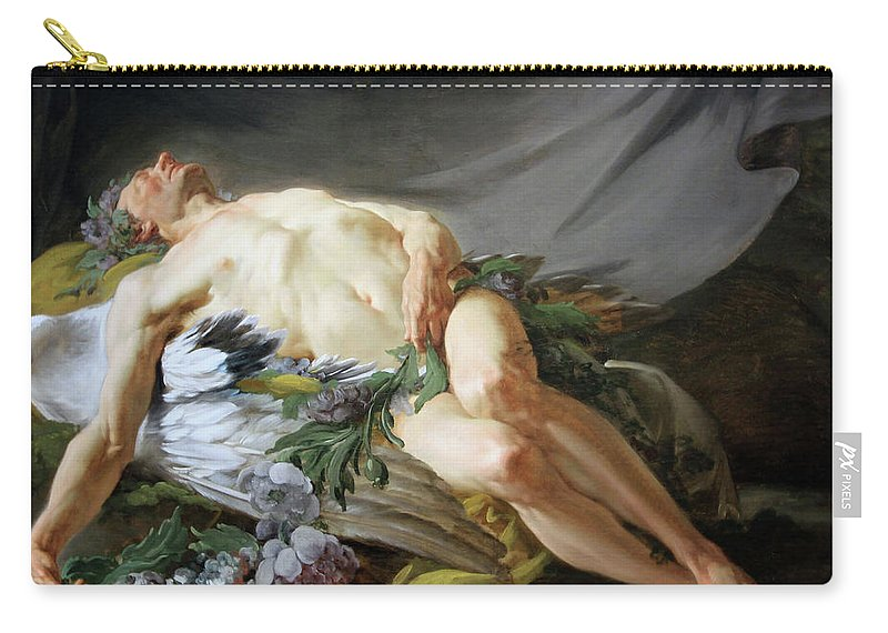 Sleep Carry-all Pouch featuring the photograph Restout's Sleep by Cora Wandel