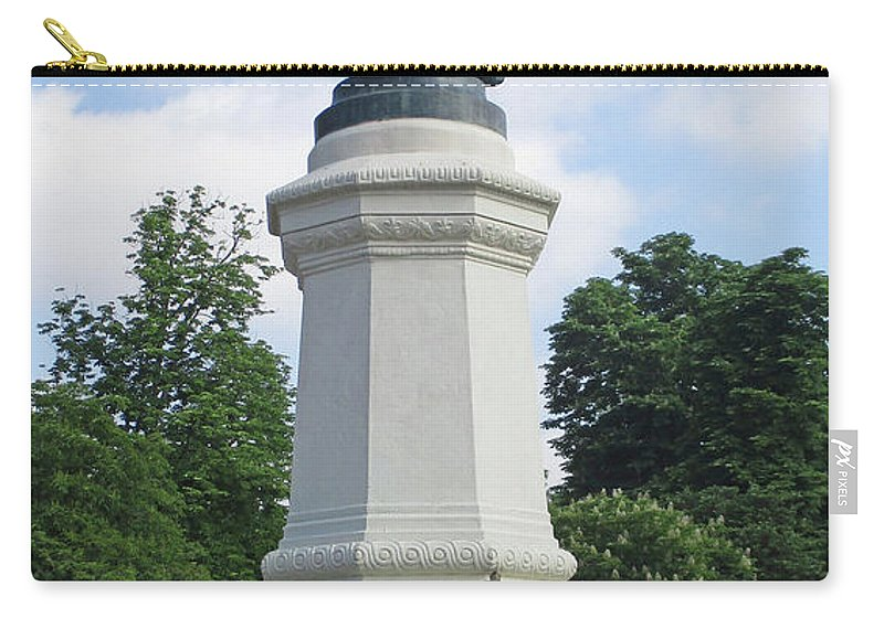 Parque Del Retiro Carry-all Pouch featuring the photograph Retiro Park 43 by Randall Weidner