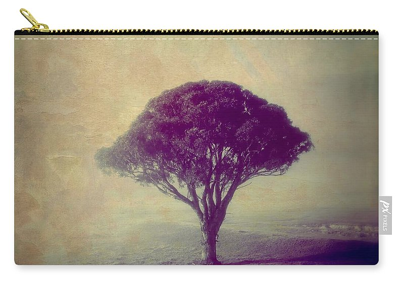 Tree Carry-all Pouch featuring the photograph Revelation - 113vt by Variance Collections