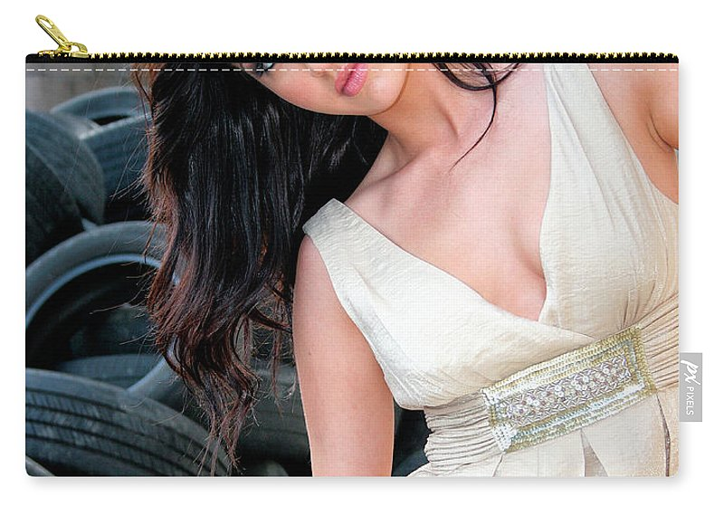 Marika Carry-all Pouch featuring the photograph Reverie Palm Springs by William Dey