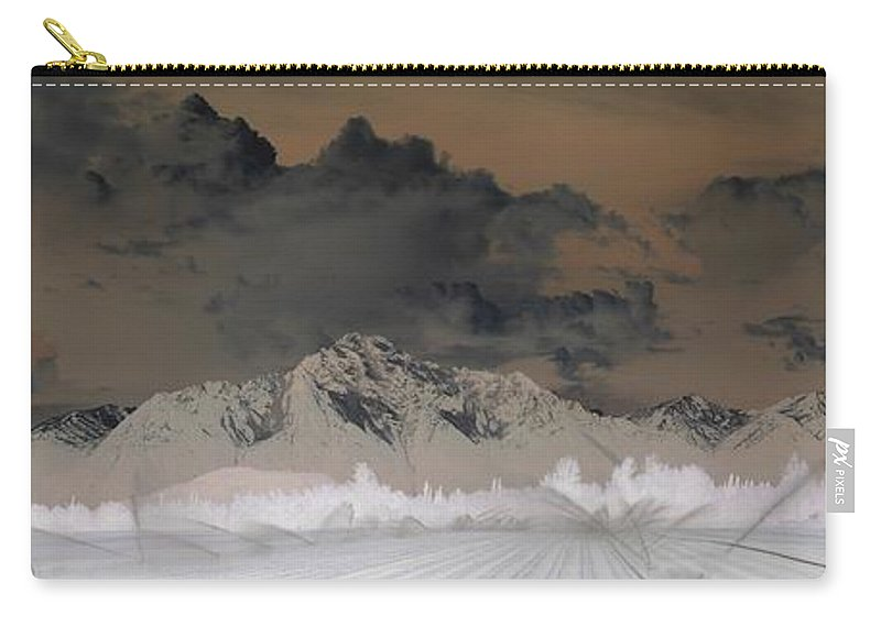 Landscape Carry-all Pouch featuring the photograph Reverse Landscape by Ron Bissett
