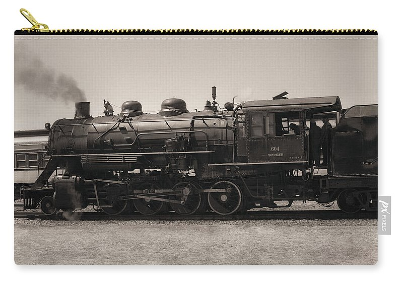Americana Carry-all Pouch featuring the photograph Reverse Throttle by Richard Rizzo