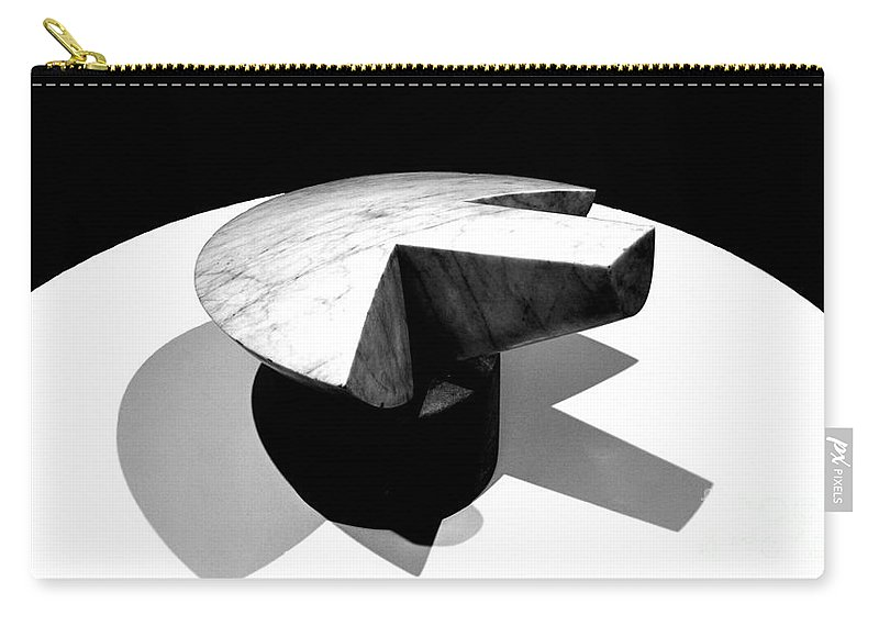 Brancusi Carry-all Pouch featuring the photograph Revisiting Brancusi - Flying Turtle by Mioara Andritoiu