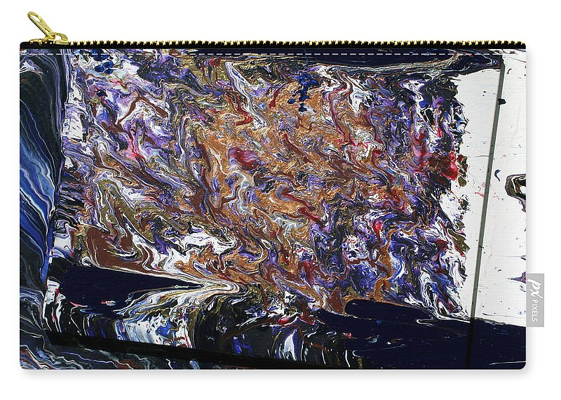 Fusionart Carry-all Pouch featuring the painting Revolution by Ralph White