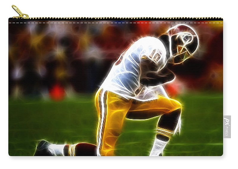 Rg3 Carry-all Pouch featuring the photograph Rg3 - Tebowing by Paul Ward