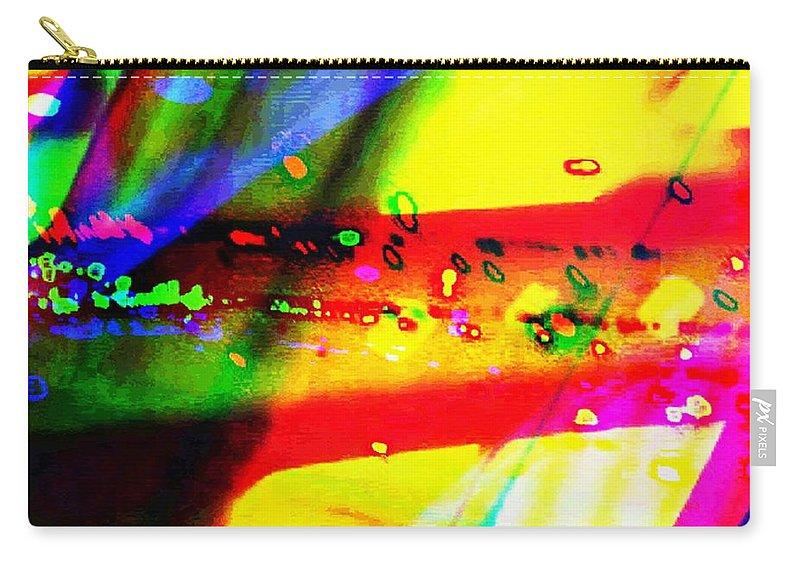 Art Digital Art Carry-all Pouch featuring the digital art Rgb3a - York by Alex Porter
