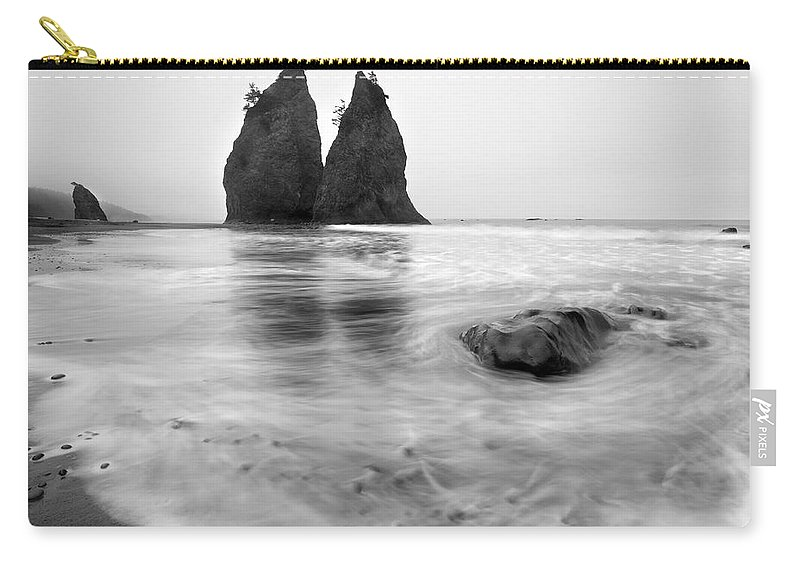 Beach Carry-all Pouch featuring the photograph Rialto Reflections by Mike Dawson