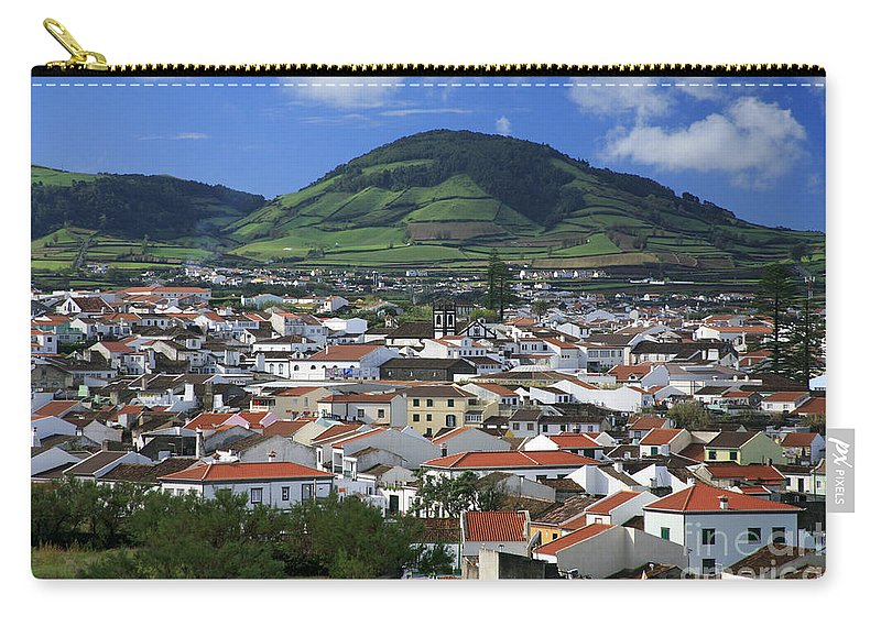 Azores Carry-all Pouch featuring the photograph Ribeira Grande by Gaspar Avila