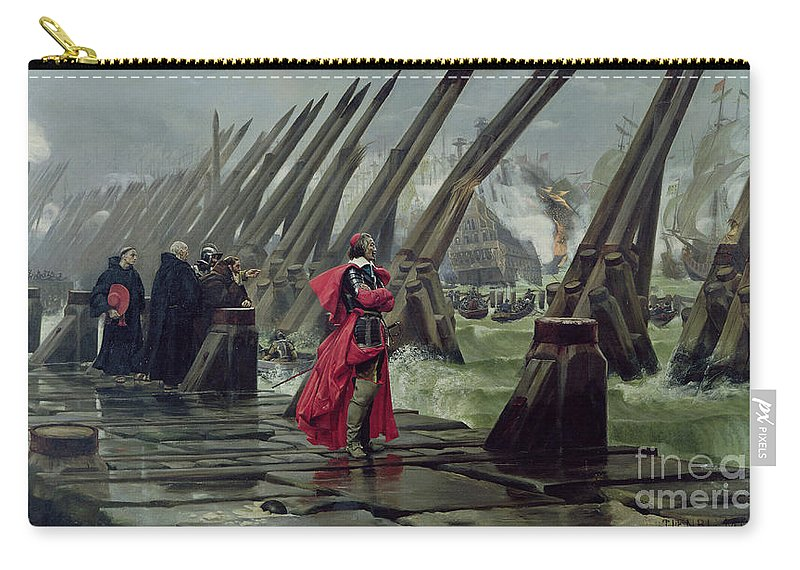 Richelieu Carry-all Pouch featuring the painting Richelieu by Henri-Paul Motte