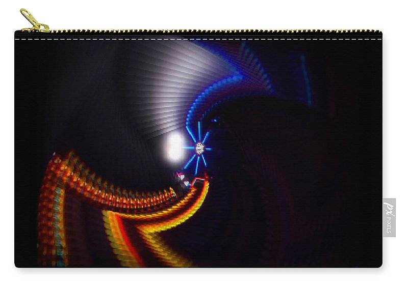 Chaos Carry-all Pouch featuring the photograph Ride by Charles Stuart