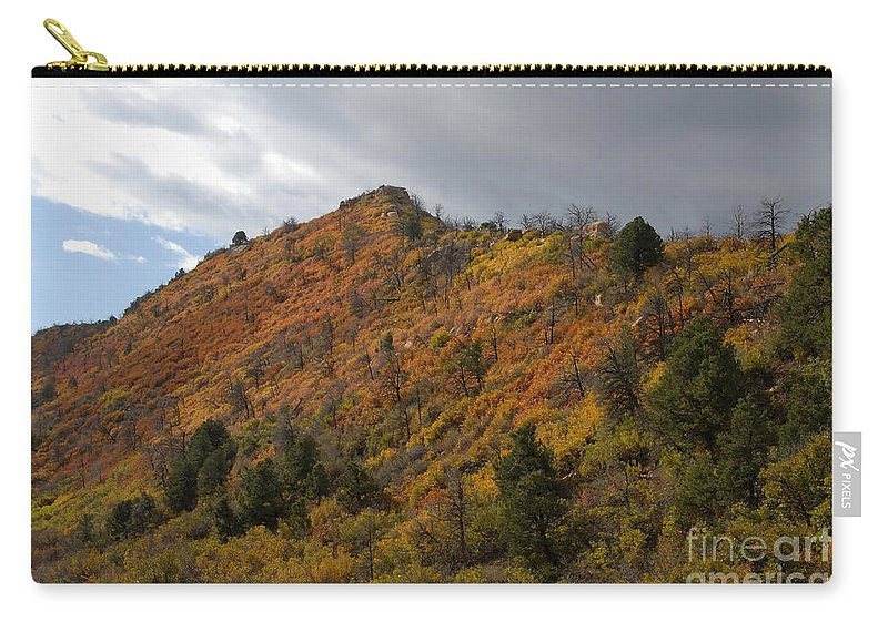 Landscape Carry-all Pouch featuring the photograph Ridge Line by David Lee Thompson