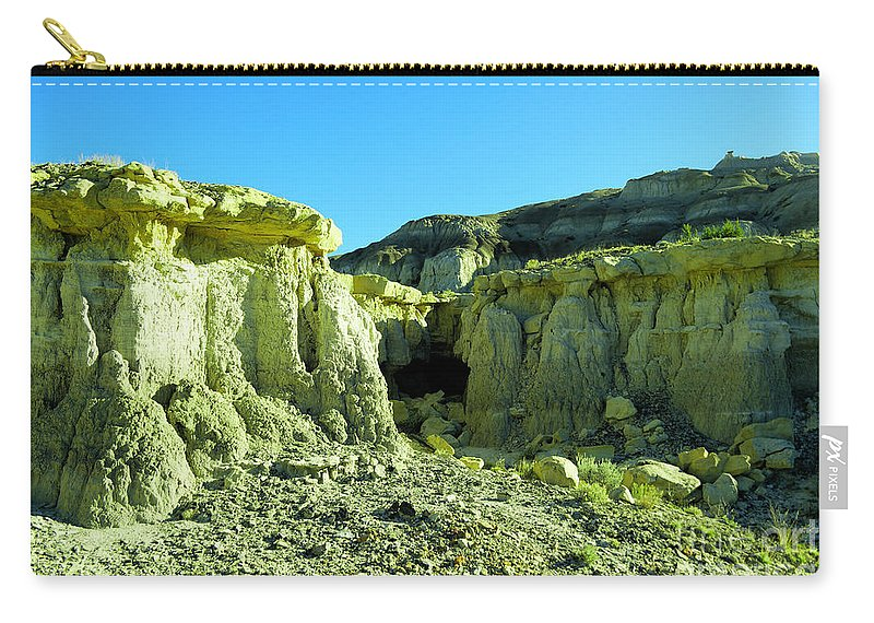 New Mexico Carry-all Pouch featuring the photograph Rigid New Mexico by Jeff Swan