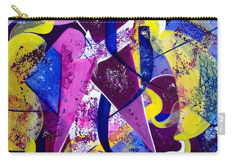 ruth Palmer Carry-all Pouch featuring the painting Right Of Passage by Ruth Palmer