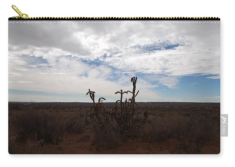 New Mexico Carry-all Pouch featuring the photograph Rio Rancho New Mexico by Rob Hans
