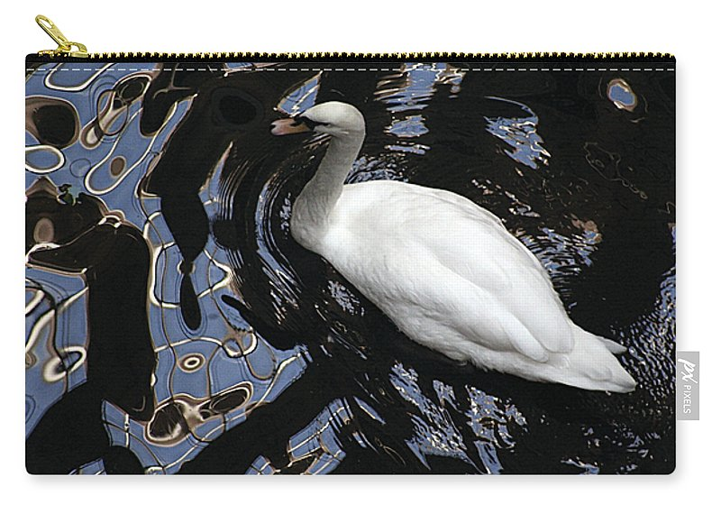 Water Carry-all Pouch featuring the photograph Ripple Effect by Alycia Christine