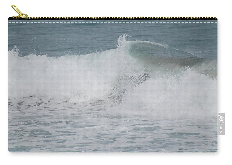 White Carry-all Pouch featuring the photograph Ripple by Rob Hans