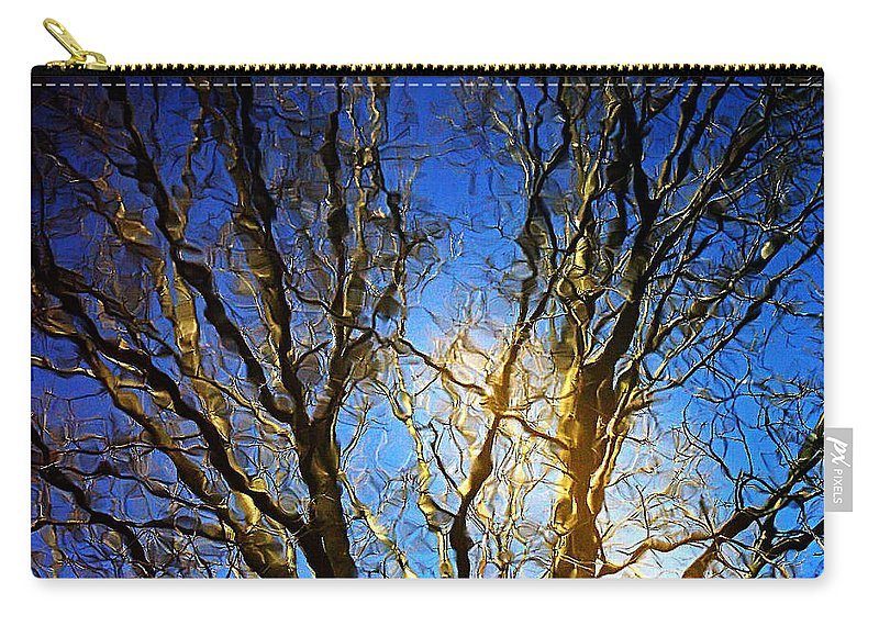 2d Carry-all Pouch featuring the photograph Ripple Tree by Brian Wallace